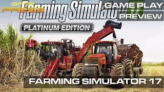 Download Farming Simulator 17 Platinum Edition - GAME PRESS PLAY PREVIEW Video