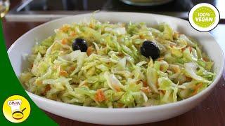 Download MEIN LECKERER KRAUTSALAT - türkisches Krautsalat-Rezept - Canans Rezepte Video