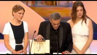 Download Cannes Film Festival - closing ceremony - Palme d'Or 26 May 2013 г Video