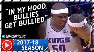 Download Zach Randolph vs DeMarcus Cousins BIG Duel Highlights (2017.12.08) Kings vs Pelicans - CRAZY BEEF! Video