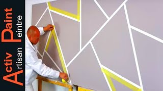 Download Idée de peinture décoration salon ( Facile pour Débutant) Video
