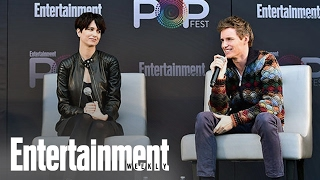 Download Fantastic Beasts: Redmayne & Waterston Compare Film To Harry Potter | PopFest | Entertainment Weekly Video