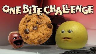 Download Annoying Orange - ONE BITE CHALLENGE! Video