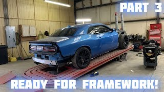 Download Rebuilding a Wrecked 2016 Dodge Hellcat Part 3 Video