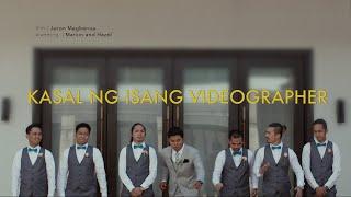Download Kasal ng Isang Wedding Videographer. Video