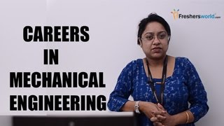 Download CAREERS IN MECHANICAL ENGINEERING - GATE,Mtech,Campus drives,Salary package,Top recruiters Video