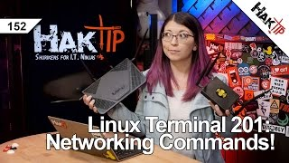 Download Linux Terminal 201: Networking Commands You Should Know! - HakTip 152 Video