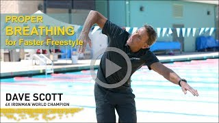 Download Improve Your BREATHING Technique for Faster Freestyle Swimming Video