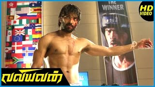 Download Valiyavan Tamil Movie | Climax Scene | Jai fights with Aaran Chaudhary infront of press | Andrea Video