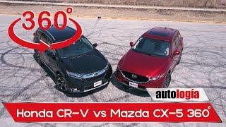 Download Comparativa de interiores Honda CR-V vs Mazda CX-5 en 360° Video
