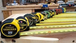 Download The Ultimate Tape Measure Review // Stanley Lufkin Kobalt Komelon Fatmax Video