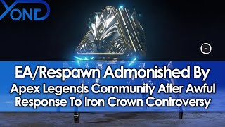 Download EA/Respawn Admonished By Apex Legends Community After Awful Response To Iron Crown Controversy Video