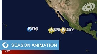 Download 2017 Pacific Hurricane Season Animation Video
