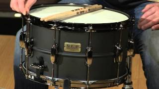 Download Tama S.L.P. Big Black Steel Limited Edition Snare Review by Sweetwater Sound Video