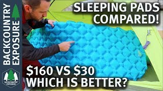 Download The Best Backpacking Sleeping Pad?   Cheap vs Expensive Video