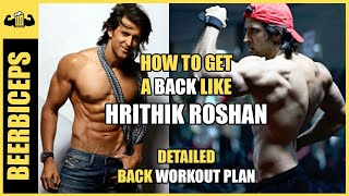 Download Hrithik Roshan Back Workout - Detailed Back Workout in Gym | BeerBiceps Bollywood Bodies Video