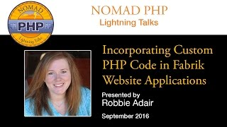 Download Incorporating Custom PHP Code in Fabrik Website Applications Video