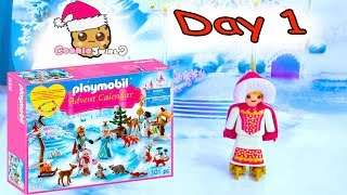 Download Playmobil Holiday Christmas Advent Calendar Day 1 Cookie Swirl C Toy Surprise Video Video