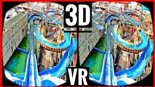 Download VR Videos 3D VR Roller Coaster 3D SBS WaterSlide VR 4K for VR BOX - Log Flume POV Ride Video