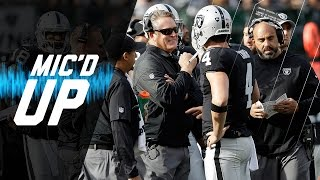 Download Jack Del Rio Mic'd Up in Week 12 Win vs. Panthers | Sound FX | NFL Films Video