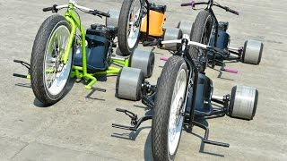 Download Motorized Big Wheel Drift Trike Gang Video