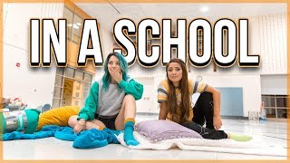 Download Overnight Challenge in a School *Kicked Out* Video