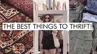 Download Don't Buy These New! 5 ZERO WASTE Items To Buy At The Thrift Store Or Flea Market | Alli Cherry Video
