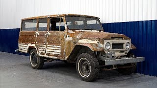 Download 1967 Toyota Land Cruiser FJ45LV Restoration Project Video
