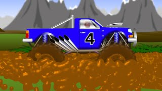 Download MONSTER TRUCK Stuck in the MUD Video