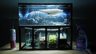 Download Aquarium model 10 - Mini Arowana Fish Tank/ Make Arowana Fish Tank Video