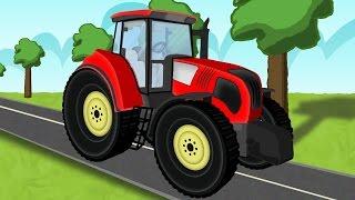 Download ☻ Tractor | the tale of tractors | Bajki dla dzieci o Traktorach ☻ Video