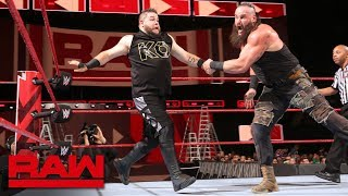 Download Braun Strowman vs. Kevin Owens - Men's Money in the Bank Qualifying Match: Raw, May 7, 2018 Video