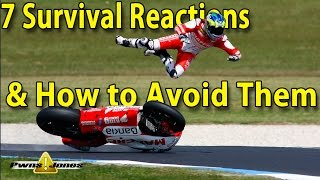 Download 7 Survival Reactions & How To Avoid Them - Motorcycle Video