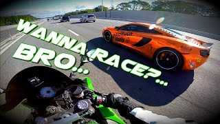 Download Modded Mclaren walks ZX6R like a BOSS!!! / Goldrush Rally Video