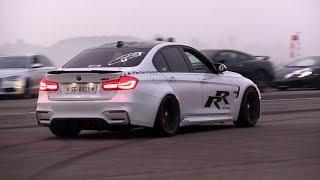 Download 650HP BMW M3 F80 LA Performance - INSANE Revs, Donuts & Drag Racing! Video