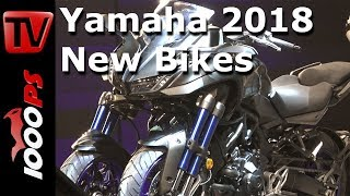 Download Yamaha Motorcycles 2018 - MT-09 SP, MT-07, Tracer 900, NIKEN - with Valentino Rossi Video