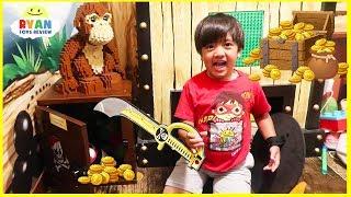 Download Legoland Secret Treasure Chest Hunt Surprise Toys for kids!!!! Video