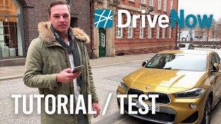 Download DriveNow Anleitung / Test mit dem BMW X2 - So GUT sind die CarSharing Autos! Video