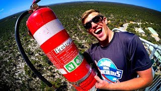 Download DODGING HEAVY STUFF from 45m TOWER with RC CARS!! (ROUND 2) Video