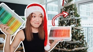Download Decorating My Christmas Tree with STATIONERY?! Video