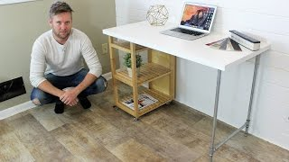 Download IKEA HACK - Computer Desk DIY Project Video