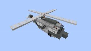 Download Как построить вертолет в Minecraft [Квадратная красота] Video