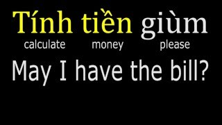 Download Vietnamese lesson 3, ordering food (northern accent) HD Video
