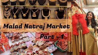Download Malad Natraj Market Mumbai ! Jewellery and Traditional Clothing !The Crazy Queen ! Video
