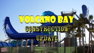 Download Universal Orlando Resort Volcano Bay Construction Update 11.19.16 CRAZY NEW SLIDES GOING UP! Video