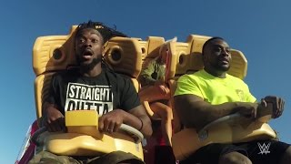 Download The New Day and Lana ride the Hollywood Rip Ride Rockit Video