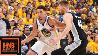 Download Golden State Warriors vs San Antonio Spurs Full Game Highlights / Game 1 / 2018 NBA Playoffs Video