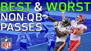 Download Best Throws & Worst Fails from Non-QB Passes in the 2017 NFL Season | NFL Highlights Video