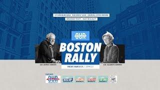 Download Our Revolution Rally with Bernie Sanders & Elizabeth Warren Video