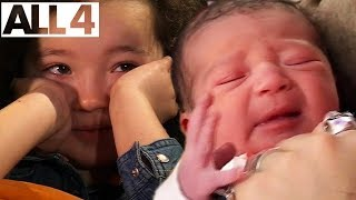 Download Adorable Kids React To Videos Of Their Own Births | I Was Born on One Born | Full Series Compilation Video
